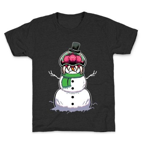 Metroid Snowman Kids T-Shirt
