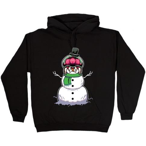 Metroid Snowman Hooded Sweatshirt