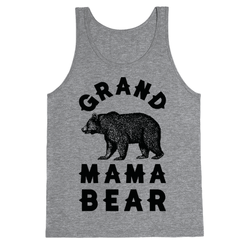 Grandmama Bear Tank Top
