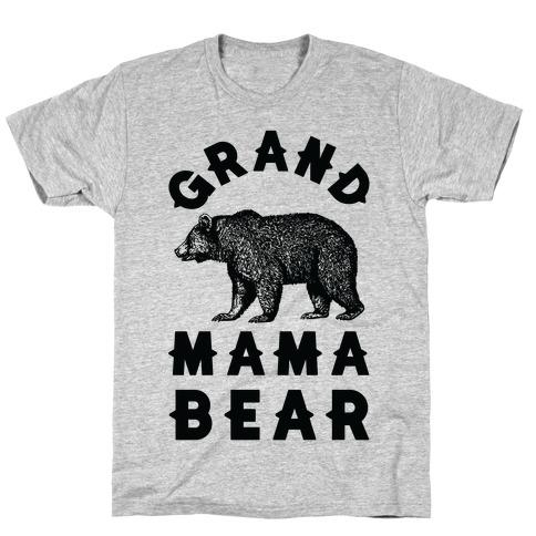 Grandmama Bear Mens/Unisex T-Shirt