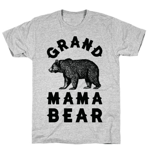 Grandmama Bear Mens T-Shirt