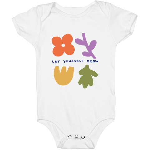 Let Yourself Grow Baby One-Piece