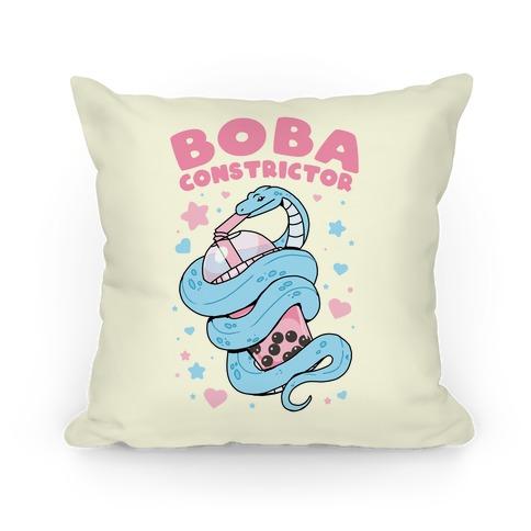 Boba Constrictor Pillow