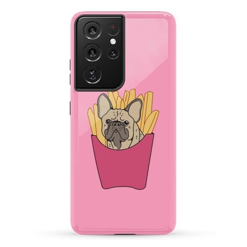 French Fry French Bulldog Phone Case