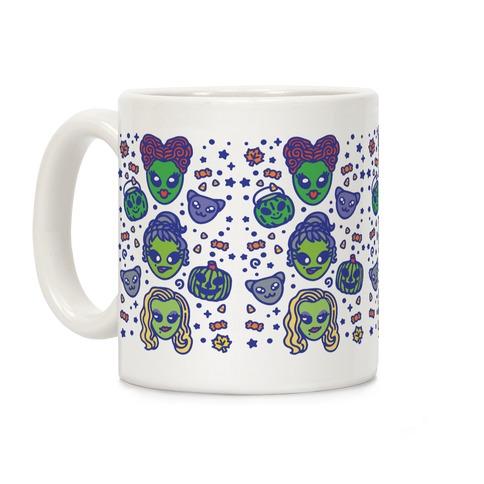 Witch Alien Sisters Parody Coffee Mug