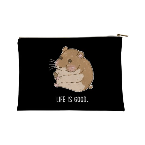 Life Is Good. Accessory Bag