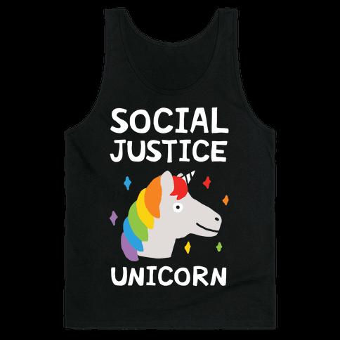 Social Justice Unicorn Tank Top