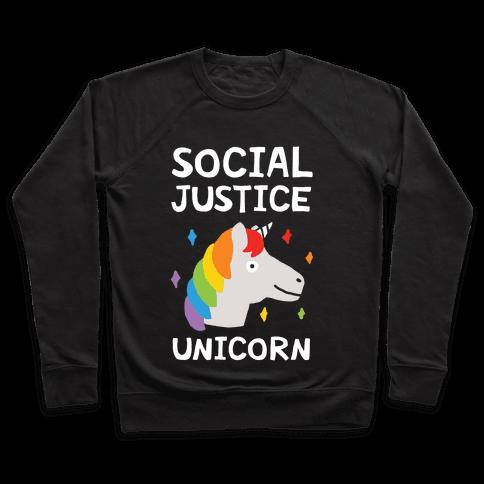 Social Justice Unicorn Pullover