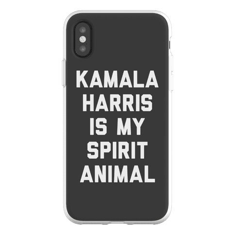 Kamala Harris Is My Spirit Animal Phone Flexi-Case