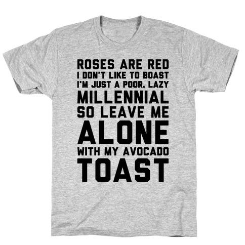Millennial Poem T-Shirt