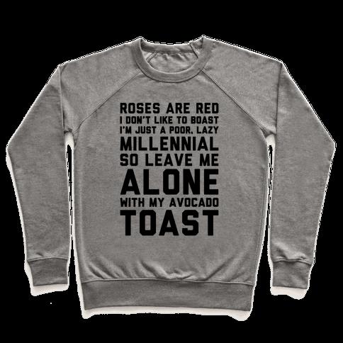 Millennial Poem  Pullover