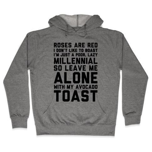 Millennial Poem Hooded Sweatshirt