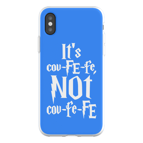 It's Covfefe Not Covfefe Parody Phone Flexi-Case