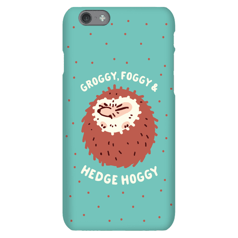 Groggy, Foggy & Hedge Hoggy Phone Case