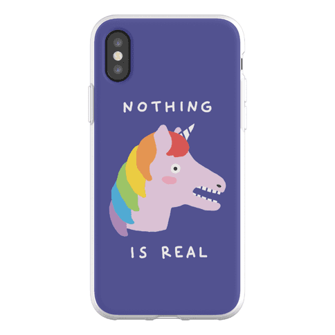 Nothing Is Real Unicorn Phone Flexi-Case