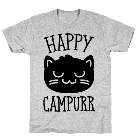 Happy Campurr Mens T-Shirt