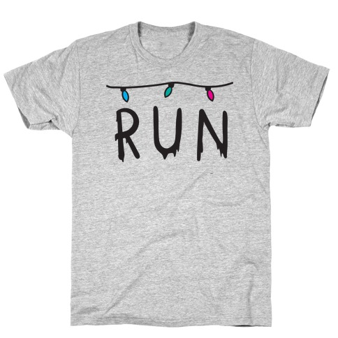 Run Stranger Things T-Shirt