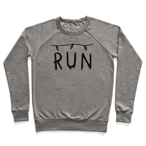 Run Stranger Things Pullover
