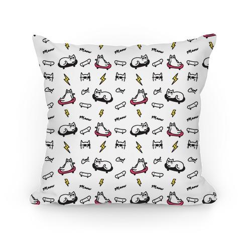 Cool Cats Pattern Pillow