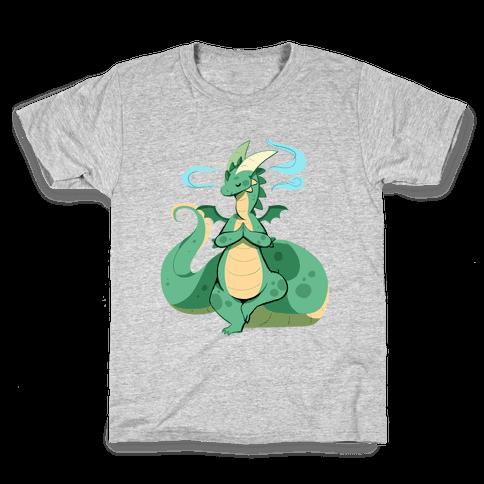 Dragon At Peace Kids T-Shirt