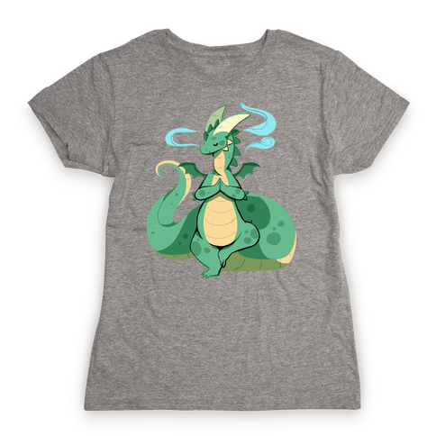Dragon At Peace Womens T-Shirt
