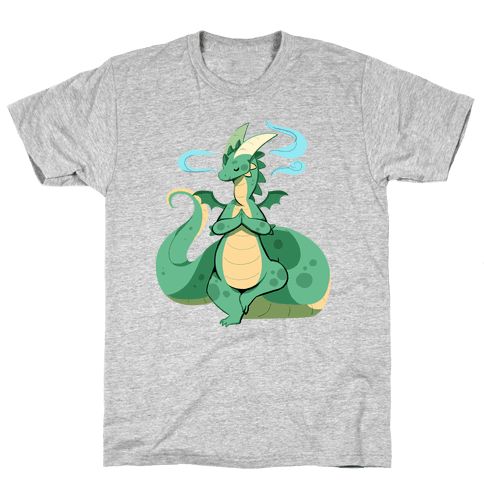 Dragon At Peace Mens T-Shirt
