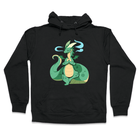 Dragon At Peace Hooded Sweatshirt