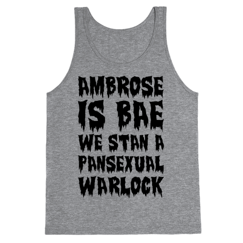 Ambrose Is Bae Parody Tank Top