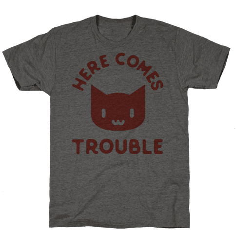 Here Comes Trouble Cat