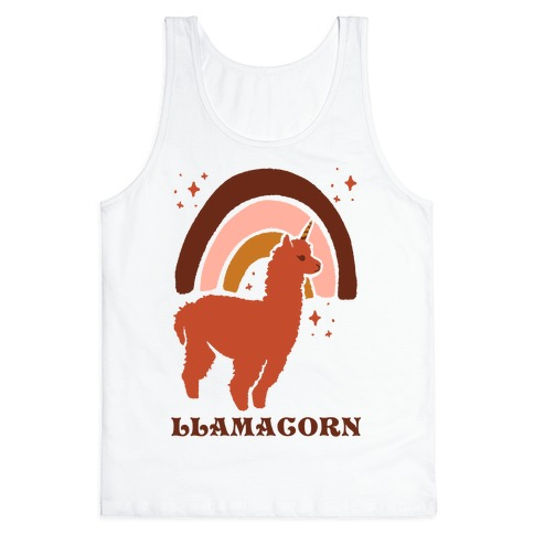 Llamacorn Tank Top