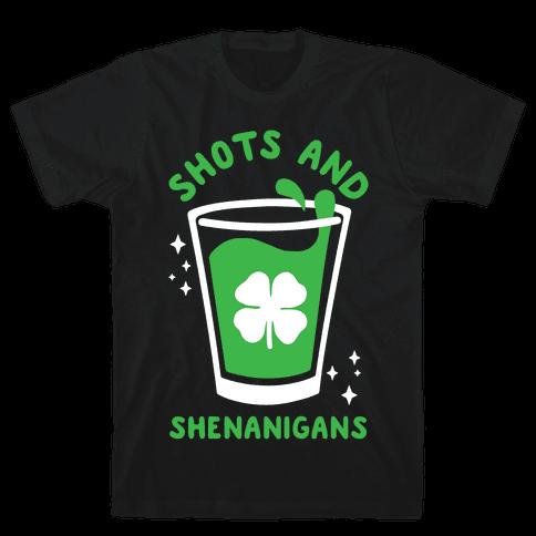Shots and Shenanigans Mens/Unisex T-Shirt