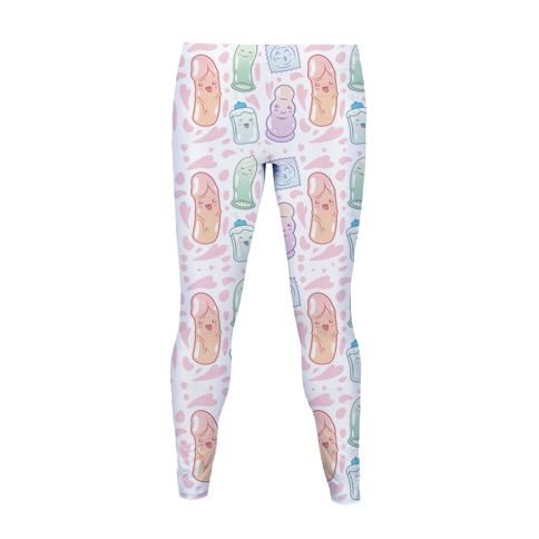 Cute Sex Toy Pattern Women's Legging
