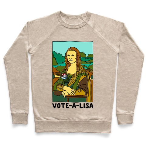 Vote-A-Lisa  Pullover