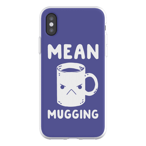 Mean mugging Phone Flexi-Case