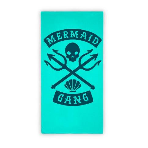 Mermaid Gang Beach Towel Beach Towel