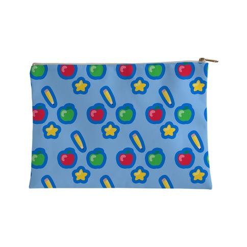 Good Apple Pattern Accessory Bag