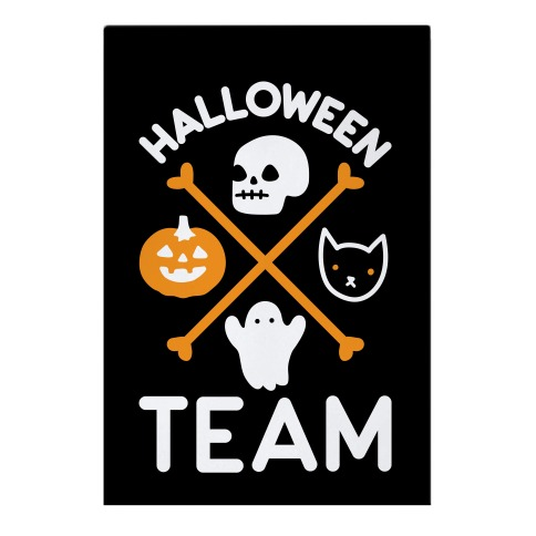 Halloween Team Garden Flag
