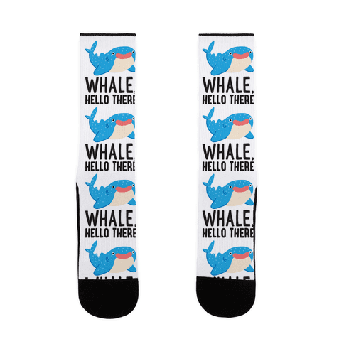 Whale, Hello There Sock