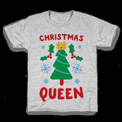 Christmas Queen Kids T-Shirt
