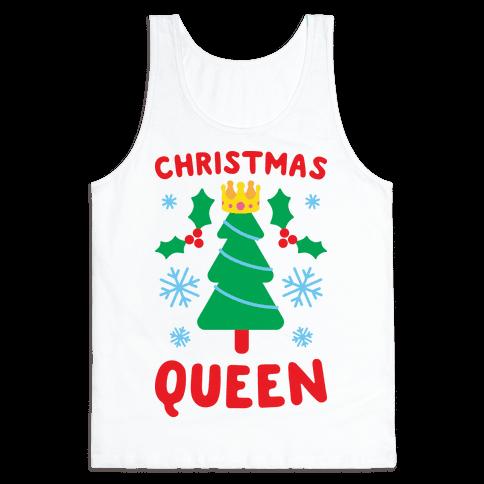 Christmas Queen Tank Top