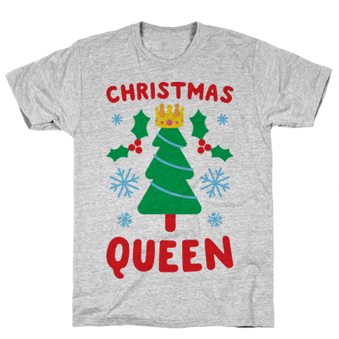 Christmas Queen Mens T-Shirt