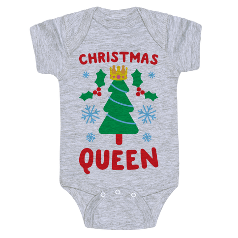 Christmas Queen Baby Onesy