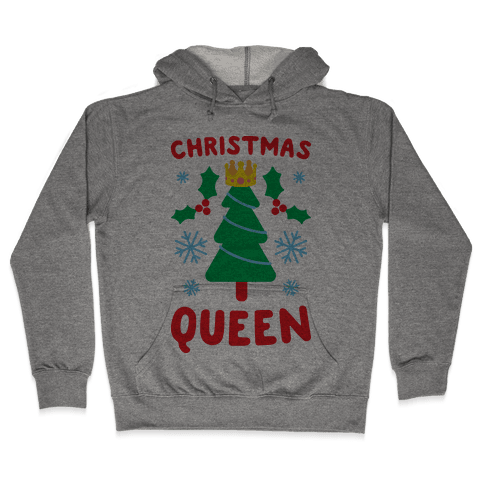 Christmas Queen Hooded Sweatshirt