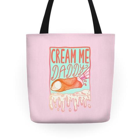 Cream Me Daddy Cannoli Tote