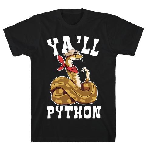 Ya'll Python T-Shirt