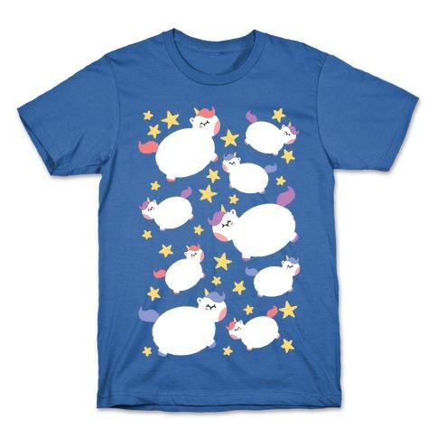 Chonky Unicorns N' Stars T-Shirt