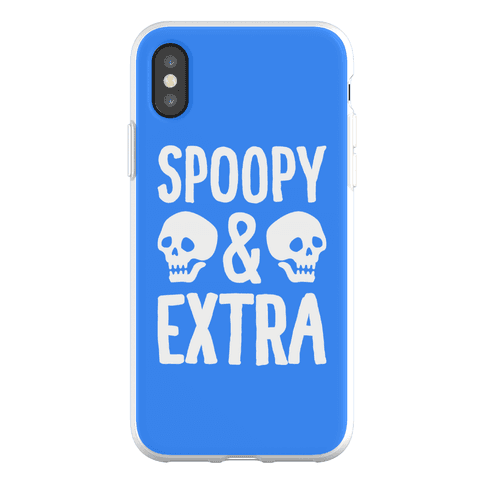 Spoopy & Extra Phone Flexi-Case