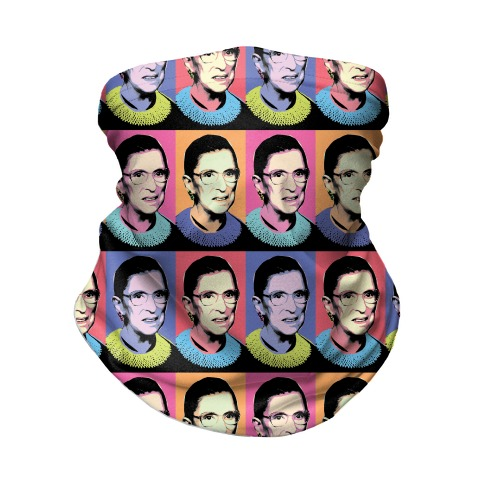 RBG Pop Art Neck Gaiter