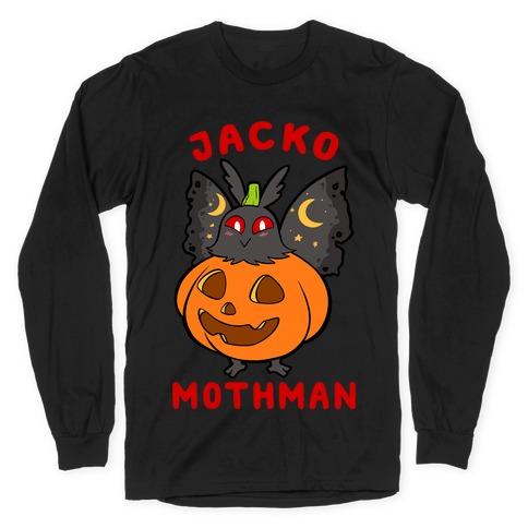 Jack-O-Mothman Long Sleeve T-Shirt