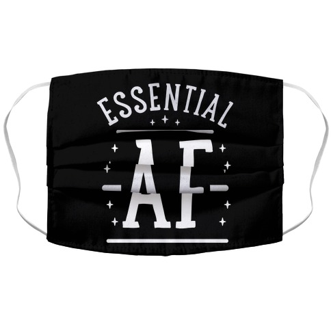Essential AF Accordion Face Mask
